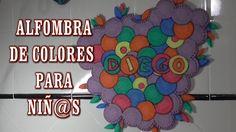 DIY ALFOMBRA DE COLORES RECICLADA