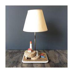Lighthouse Lamp Bedside Lamp by JustSmashingDarling on Etsy