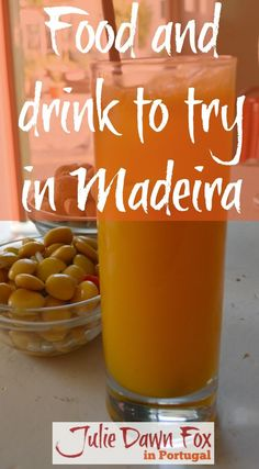 Food and drink to try in Madeira