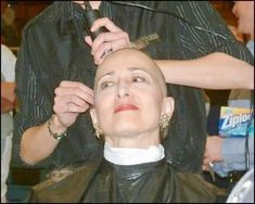 Forced Haircut, Female Mohawk, Bald Look, Shaving Your Head, Clipper Cut, Bald Girl, Bald Women, Close Shave, Shaving Razor