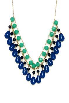 ShopSosie Style : Alva Necklace in Royal Blue