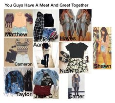 """""""You Guys Have A Meet And Greet Together - MagCon Preference"""" by hh18hh ❤ liked on Polyvore"""
