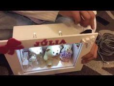 DIY: Como Instalar Luz Led Em Quadro Maternidade