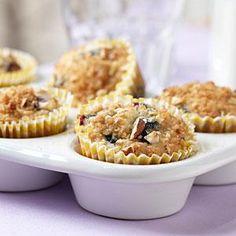 Blueberry Streusel Muffins Recipe   MyRecipes.com