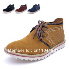 Aliexpress.com   Buy Free shipping 2014 men s casual shoes fashion British  style leather flat heels high end men s fashion brand shoes from Reliable  brand ... e9348ba41