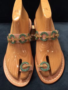 Via Capri, 34 is a luxury line of custom handmade sandals from Capri. Via Capri, 34 is located in Palm Beach on Worth Avenue. Shopping In Italy, Best Spa, Luxury Spa, Toe Rings, Different Styles, Capri, Sparkle, Pasta, Sandals