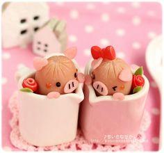 Cute piggy sausages