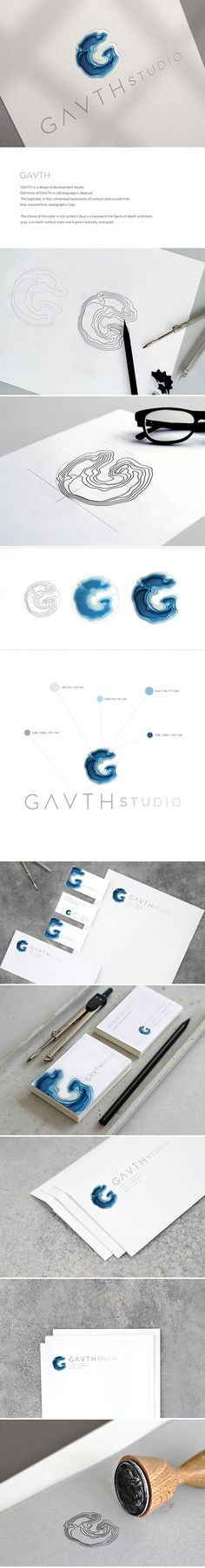 Gavth Studio Logo & Visual Identity on Behance