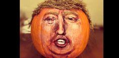 Las mil muecas de Donald Trump garantía de éxito en Halloween....