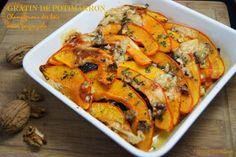 Tchoup' Cooking: Gratin de potimarron, champignons des bois, noix, gorgonzola...