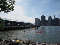 """See 497 photos and 24 tips from 3765 visitors to Brooklyn Bridge Park - Pier """"I love it - great place to play with your kids. Brooklyn Bridge Park, Great Places, New York Skyline, Party, Travel, Viajes, Parties, Destinations, Traveling"""