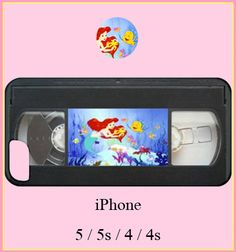 Ariel the little mermaid iphone casedisney by CaseCaseBangBang, $18.00