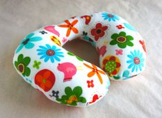 Baby Toddler Travel Neck Pillow bird and por PianissimoBabyNHome