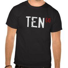 40th Birthday - TEN times 4! Tee Shirts