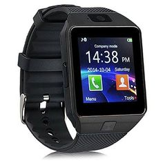 Smart watch 2016 -2017 work with IOS/ Android/HTC/ Samsung/ Windows/Blackberry/ ALL MOBILE for Teens, Kids, Adults UNISEX!  Multifunctionality such as SMS, Call logs, Messaging, Internet Browser, Call, Phone book, File Management, Pedometer, Music Player, Facebook, Twitter, Whatsapp, Alarm, Calendar, Camera, Voice recorder, Stopwatch, Date, Time, Sim Built in 128mb + 32MB, 32GB slot for memory. Individual Selling at £22 Tracked and Ship with 1 year Warranty NEW IN BOX WORK WILL ALL MOBILE…