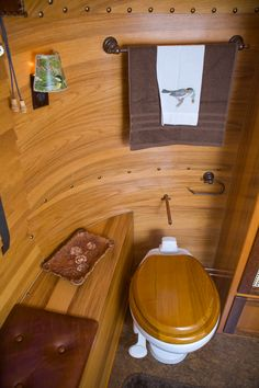 Now that's a trailer bathroom!  teardrop