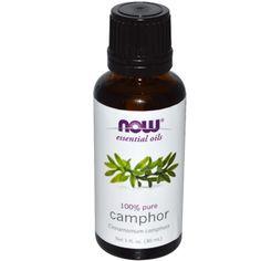 Now Foods, Essential Oils, Camphor, 1 fl oz (30 ml)