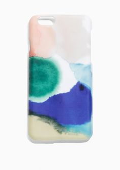 & Other Stories Watercolours Iphone 6 Case in Multicolour