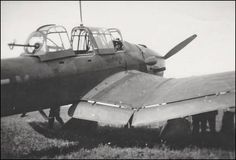 Different point of view - Junkers Ju 87B-1 of II./StG 77 at Bouchy airfield (France) August 1940.