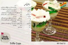 .Trifle Cups
