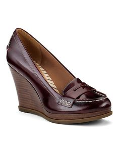Sperry Wedge Loafers, these are so beautiful