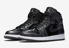 "52b1612cc34ab0 Air Jordan 1 High ""Patent Leather"" - Black is Back - Sneaker Finders"