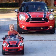 Just like mom. #MotoringMama