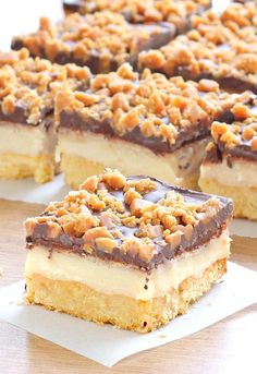 Make these chocolate toffee bars for your next party and you'll be invited back! The sweetened condensed milk and chocolate toffee bits flavor combination makes this the perfect sweet treat.
