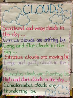Super Effective Program Teaches Children Of All Ages To Read. Preschool Weather, Weather Science, Weather Unit, Weather Activities, Weather And Climate, Science Activities, Teaching Weather, Science Experiments, Clouds