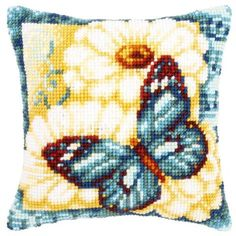 Vervaco® Daisies Pillow Cover Needlepoint Kit $34.99