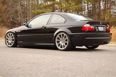 Show me your Lowered M3! - Page 41 - BMW M3 Forum.com (E30 M3 | E36 M3 | E46 M3 | E92 M3 | F80/X) Bmw 3 E46, E46 M3, Bmw 318, Bmw Black, Bmw M3 Coupe, Fox Body Mustang, Cool Sports Cars, Bmw Cars, Dream Cars