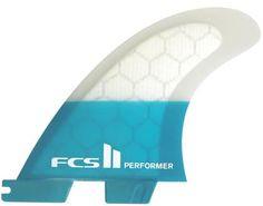 FCS II Performer PC Tri Surf Fin Set