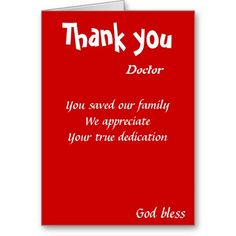 Motivational birthday greeting cards ralph staples greetings inc you saved our family doctor card m4hsunfo