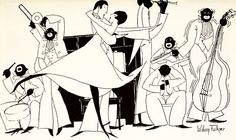 William Faulkner's Little-Known Jazz Age Drawings, with a Side of Literary Derision   Brain Pickings