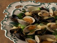 Conchiglie With Clams and Mussels from CookingChannelTV.com