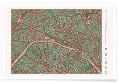"""Ya en Amazon: JUNIQE® Poster 30x45cm Stadtpläne Paris - Design """"PARIS p... https://www.amazon.de/dp/B0759L6JYH/ref=cm_sw_r_pi_dp_U_x_4oEIAbV58D4NJ"""