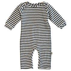 Kidscase organic suit stripes blue-offwhite.