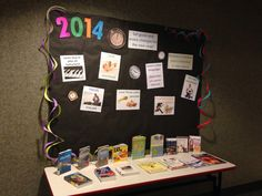 New Year library display - Travel, health, finance and hobbies