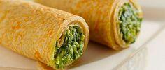Panqueca de quinua com espinafre e queijo Healthy Cooking, Healthy Eating, Comidas Light, Cooking For Dummies, Confort Food, Vegetarian Recipes, Healthy Recipes, Bariatric Recipes, Foods With Gluten