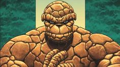 The Thing from the Fantastic Four series