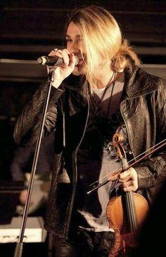 David en su concierto