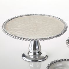 10 in. Pearl Cake Stand