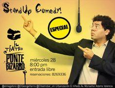 Cresta Metálica Producciones » Especial de Comedia este Miércoles 28 en el Teatro Bar Valencia