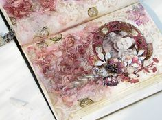 Scraps of Elegance: Altered Book: Women of Substance - Fourth Entry