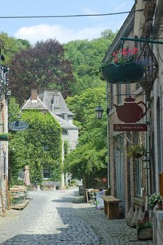 Durbuy, Belgium is about 90 minutes from Brussels.