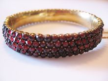 FANTASTIC TOP GRADE 199.00 CTS NATURAL 3 LINE RED GARNET BEADS NECKLACE PAYPAL