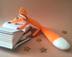 FOX The Little Prince fox Le petit prince by HandmadeToyStore