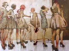 MARIA TORTI blog: * Inspired: Michael Carson Paintings *