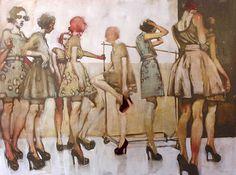 MARIA TORTI blog: * Inspired: Michael Carson Paintings *