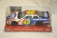 2003 Jimmie Johnson #48 Lowes Power of Pride Red White Blue Paint Scheme 1/24 Scale Racing Champions 2003 Preview Edition Hood and Trunk DO NOT Open by Racing Champions. $24.99. 2003 Jimmie Johnson #48 Lowes Power of Pride Red White Blue Paint Scheme 1/24 Scale Racing Champions 2003 Edition Hood and Trunk DO NOT Open. Hood  and Trunk DO NOT open. 2003 Jimmie Johnson #48 Lowes Power of Pride Red White Blue Paint Scheme 1/24 Scale Racing Champions 2003 Preview Edition Hood and Tru...